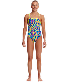 Funkita Strapped In One Piece Swimsuit Girls noodle bar